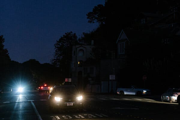 Light-emitting diodes in headlights have become more common and are viewed as an improvement over halogen lamps. But not all drivers are happy about them.